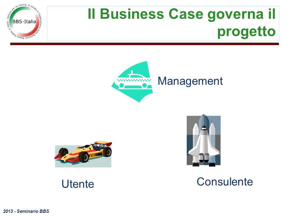 2013 - Seminario BBS 11 Il Business Case governa il progetto Management Consulente Utente
