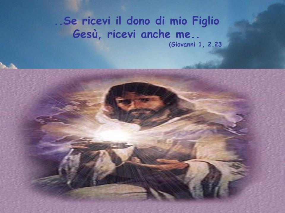 ..La morte di mio Figlio Gesù è stato il segno definitivo del mio amore per te.. (Giovanni 1, 4-10)
