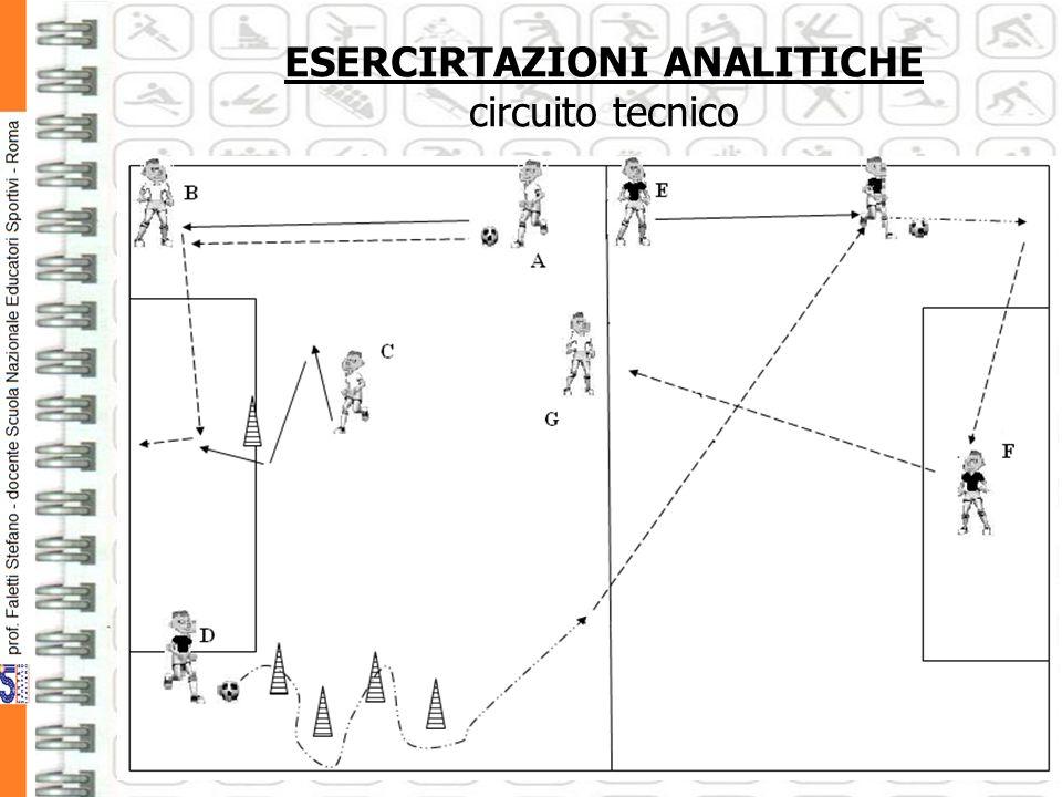 ESERCIRTAZIONI ANALITICHE circuito tecnico