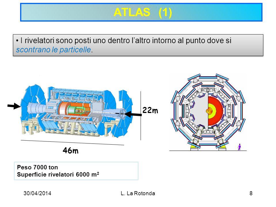 30/04/2014L. La Rotonda19 Spettrometro per muoni (2)