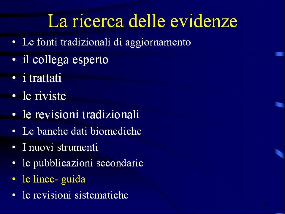 QUESITO RICERCA DELLE EVIDENZE INTERPRETAZIONE CRITICA DELLE EVIDENZE APPLICAZIONE DELLE EVIDENZE CONTESTUALIZZAZIONE AL CASO DI SPECIE 63