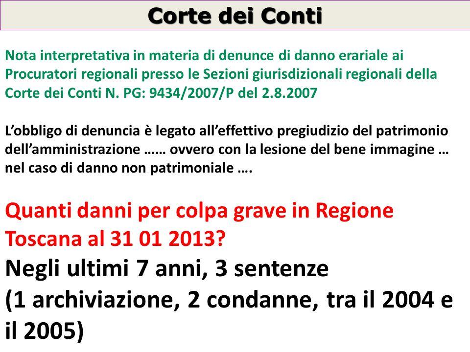 Premi polizze RCT/RCO anno 2007 Regione Toscana 44.755.203,00 44.755.203,00 (franchigie incluse) Importi liquidati RCT/RCO anno 2007 Regione Toscana 2