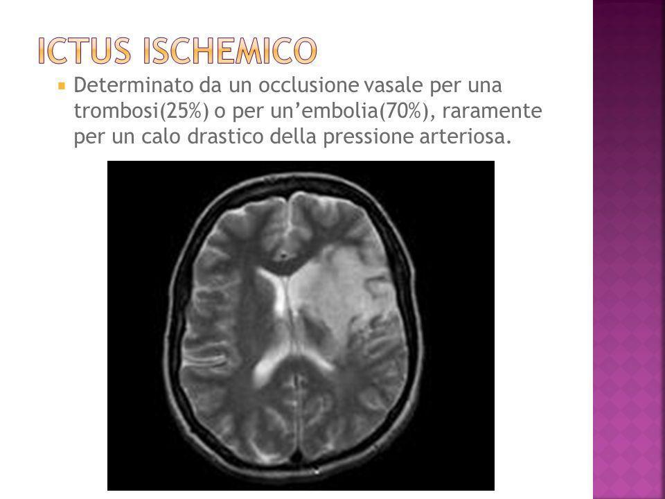 Determinato dalla presenza di unemorragia intracerebrale o intraventricolare non traumatica.