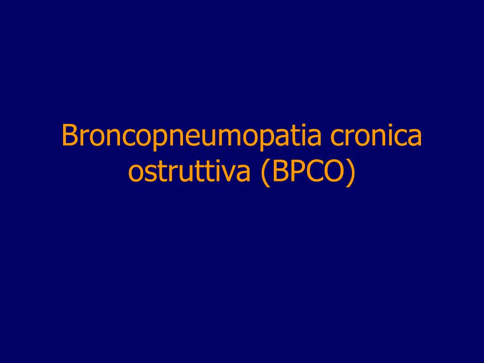 COPD: Pulmonary Emphysema