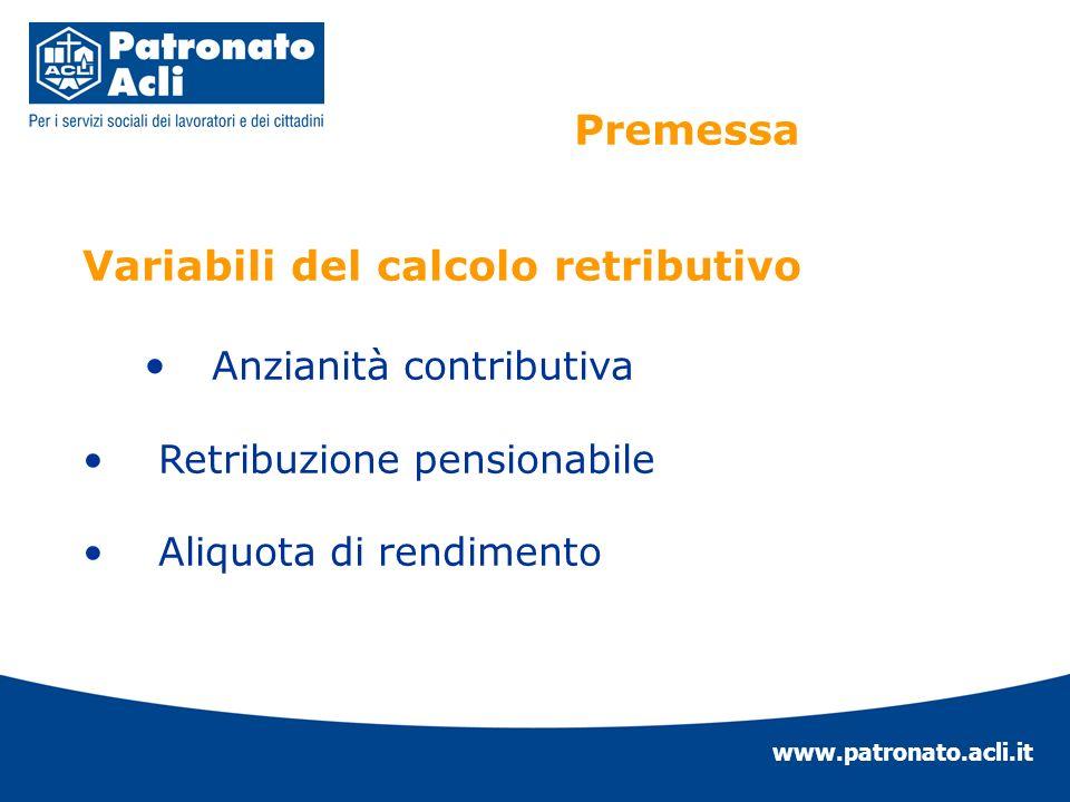www.patronato.acli.it LADEGUAMENTO DEI COEFFICIENTI DI TRASFORMAZIONE DEL MONTANTE CONTRIBUTIVO FINO A 70 ANNI (comma 16)