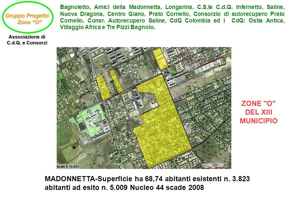 Bagnoletto, Amici della Madonnetta, Longarina, C.S.le C.d.Q.