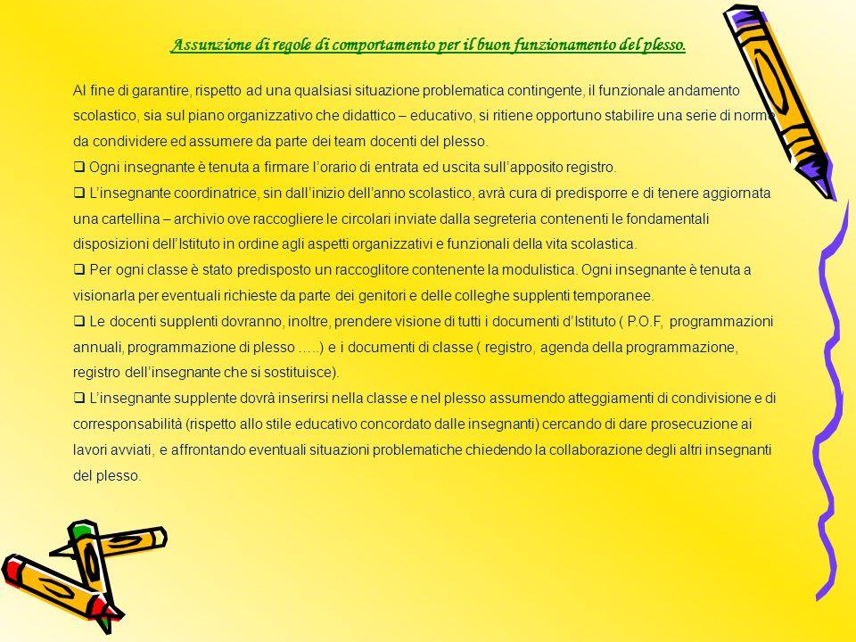 FUNZIONAMENTO DEL PLESSO Per lanno scolastico 2010/2011si prevede la seguente organizzazione: Il plesso è costituito attualmente da 32 alunni.