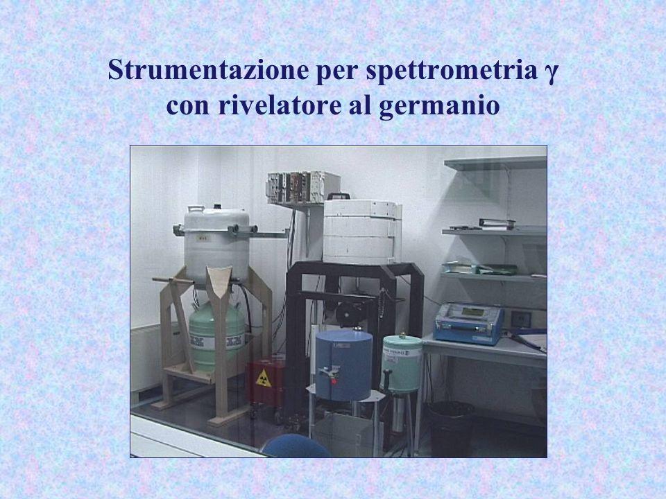 Strumentazione per spettrometria γ con rivelatore al germanio