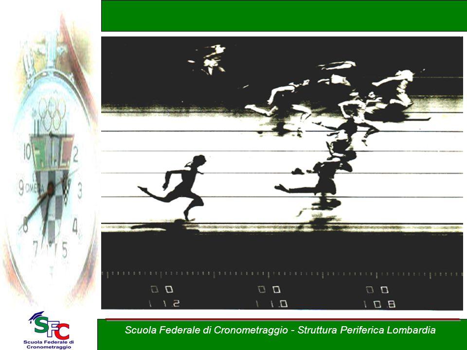 Corso Allievi cronometristi - atletica A cura di Andrea Pederzoli Scuola Federale di Cronometraggio - Struttura Periferica Lombardia Il rilevamento de
