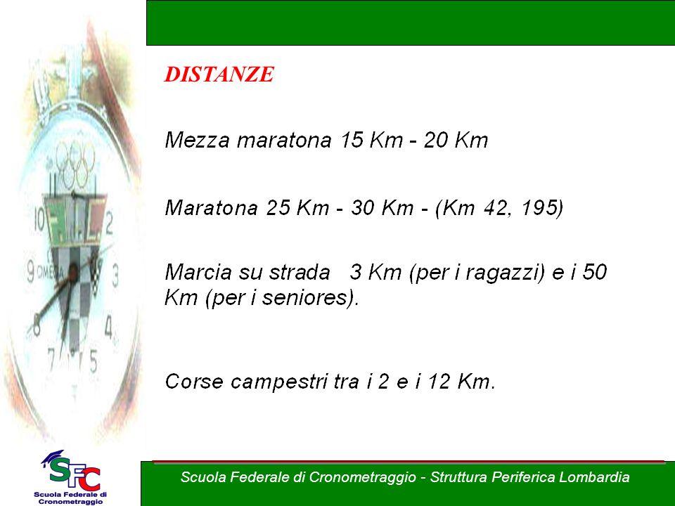 Corso Allievi cronometristi - atletica A cura di Andrea Pederzoli Corsa su strada Scuola Federale di Cronometraggio - Struttura Periferica Lombardia C