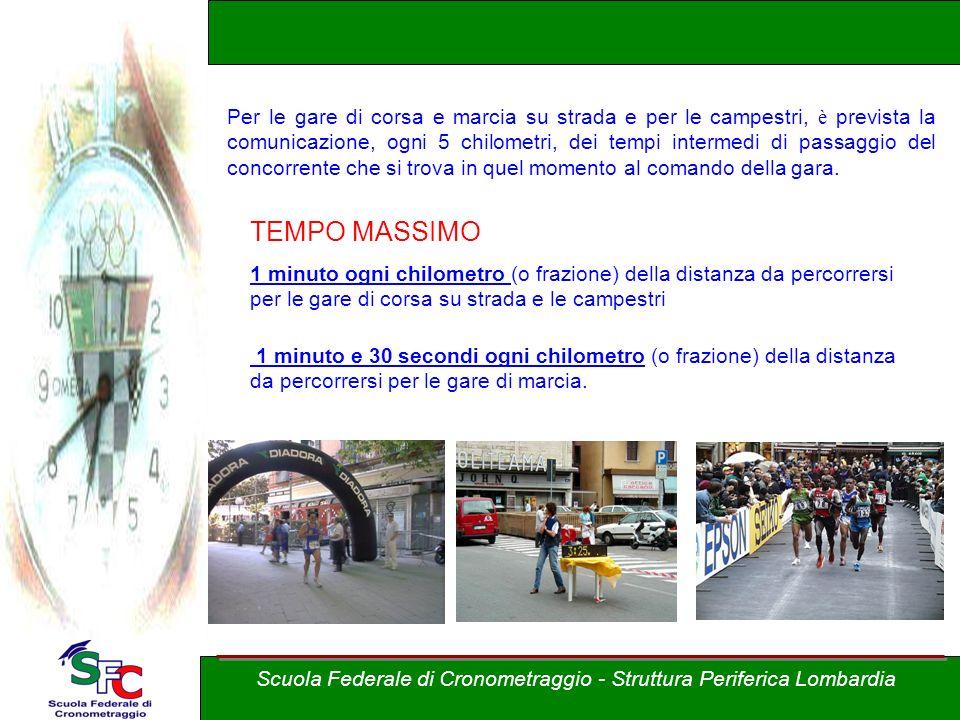 Corso Allievi cronometristi - atletica A cura di Andrea Pederzoli DISTANZE Scuola Federale di Cronometraggio - Struttura Periferica Lombardia