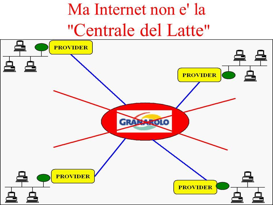 Internet e un insieme di risorse distribuite in rete