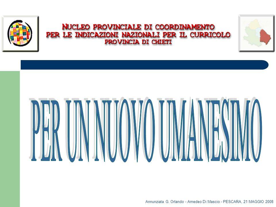 Annunziata G. Orlando - Amedeo Di Mascio - PESCARA, 21 MAGGIO 2008