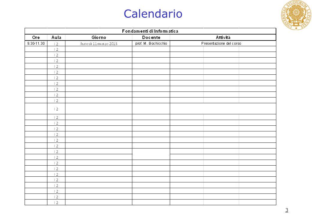 3 Calendario