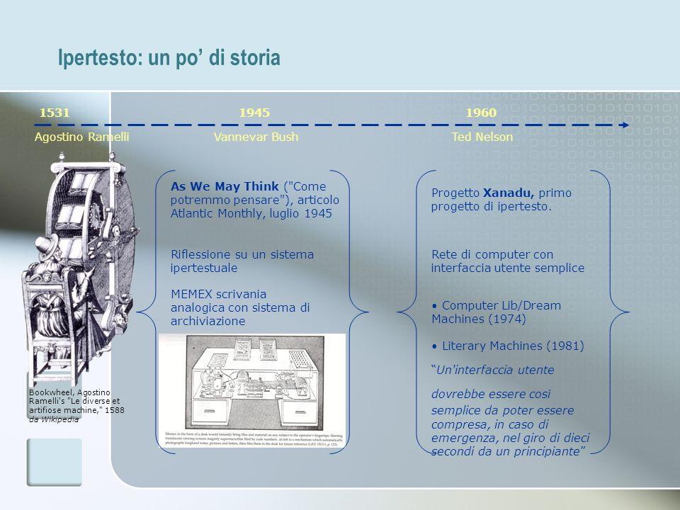 Ipertesto: un po di storia 1531 Agostino Ramelli Bookwheel, Agostino Ramelli's