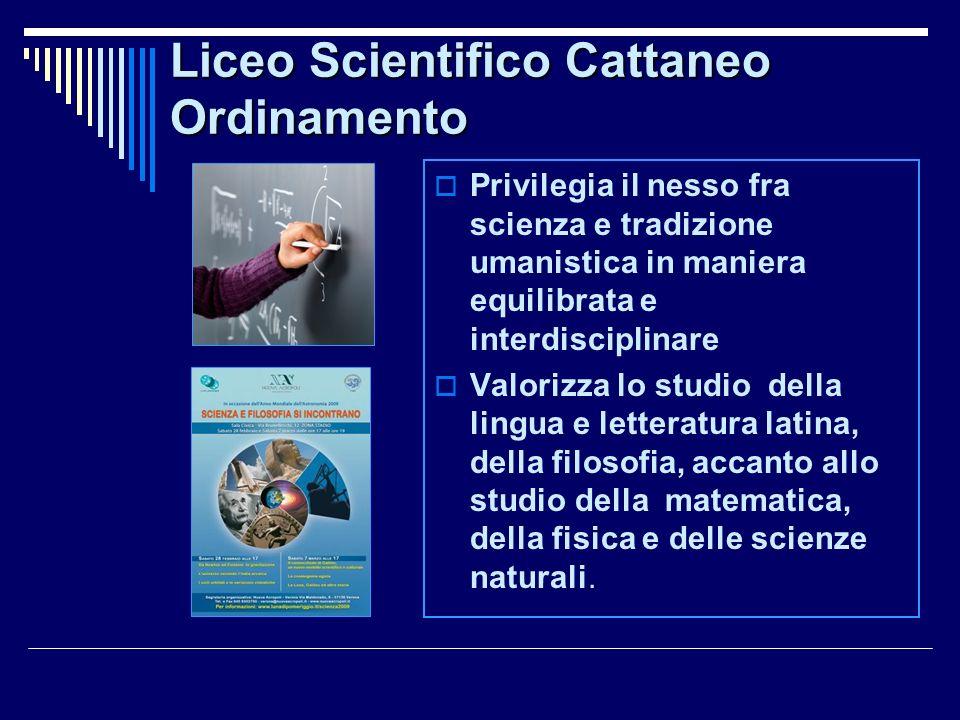 Per tutti gli studenti del Liceo Scientifico Cattaneo… in Sicurezza e con Qualità! Laboratori con nuove tecnologie e Impianti sportivi rinnovati. Aule