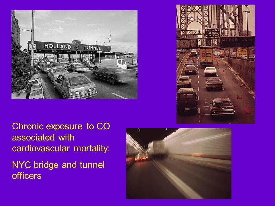 Chronic exposure to CO associated with cardiovascular mortality: NYC bridge and tunnel officers