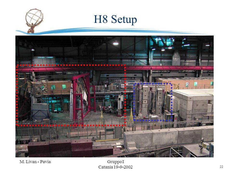 22 M. Livan - PaviaGruppo I Catania 19-9-2002 H8 Setup