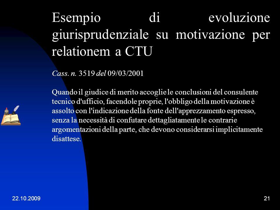 22.10.200920 Tecniche di narrazione dei fatti e di indicazione delle fonti probatorie. Dibattito