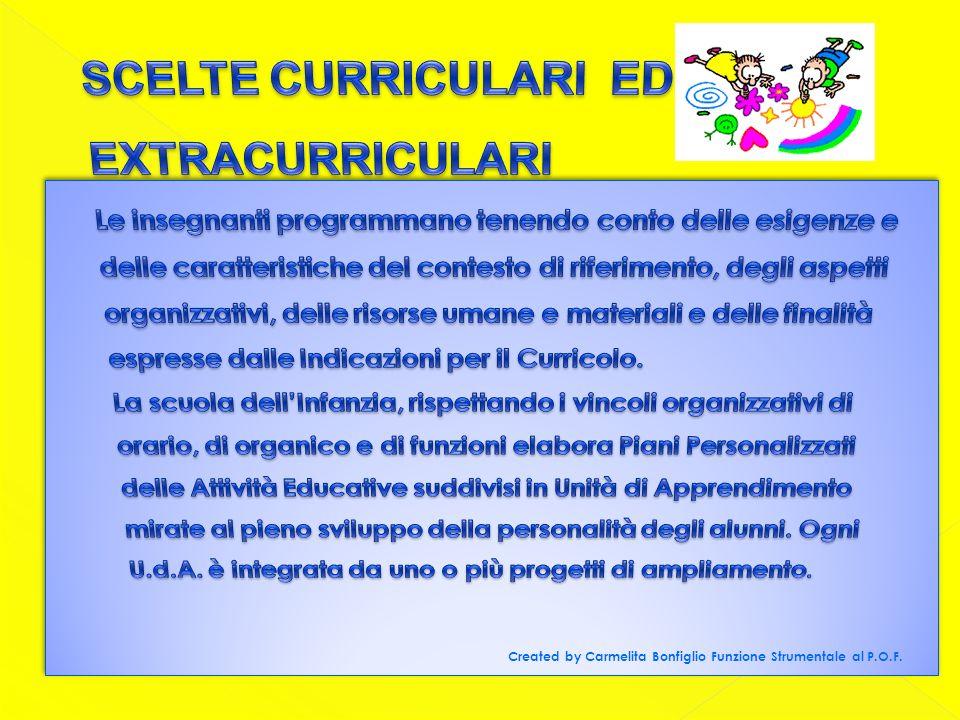 Created by Carmelita Bonfiglio Funzione Strumentale al P.O.F.
