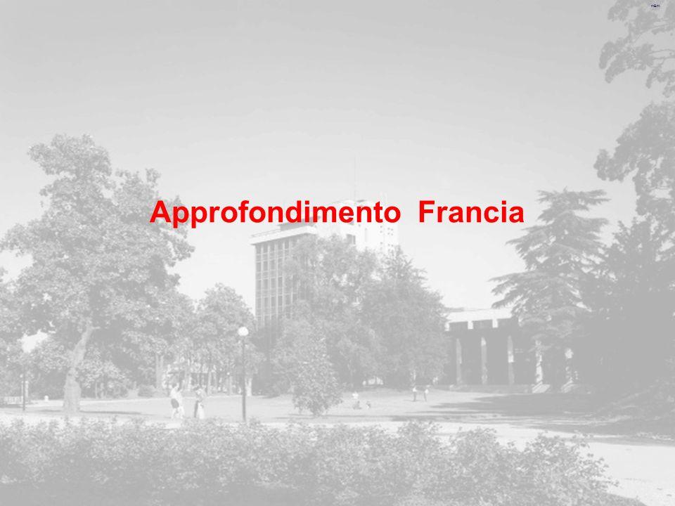 m&m Approfondimento Francia
