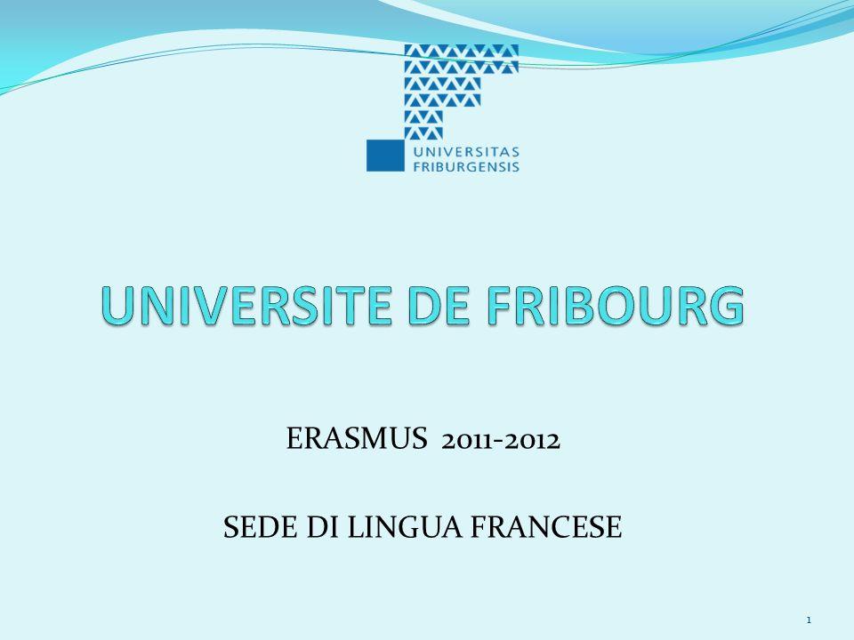 ERASMUS 2011-2012 SEDE DI LINGUA FRANCESE 1