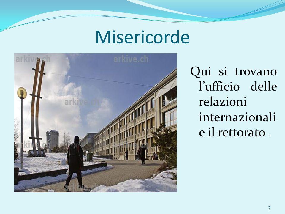 Alloggi Ci sono delle residenze universitarie gestite da APARTIS (www.apartis.ch).