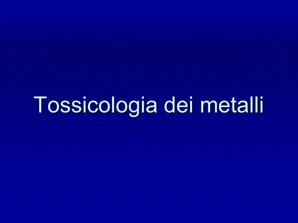 Tossicologia dei metalli