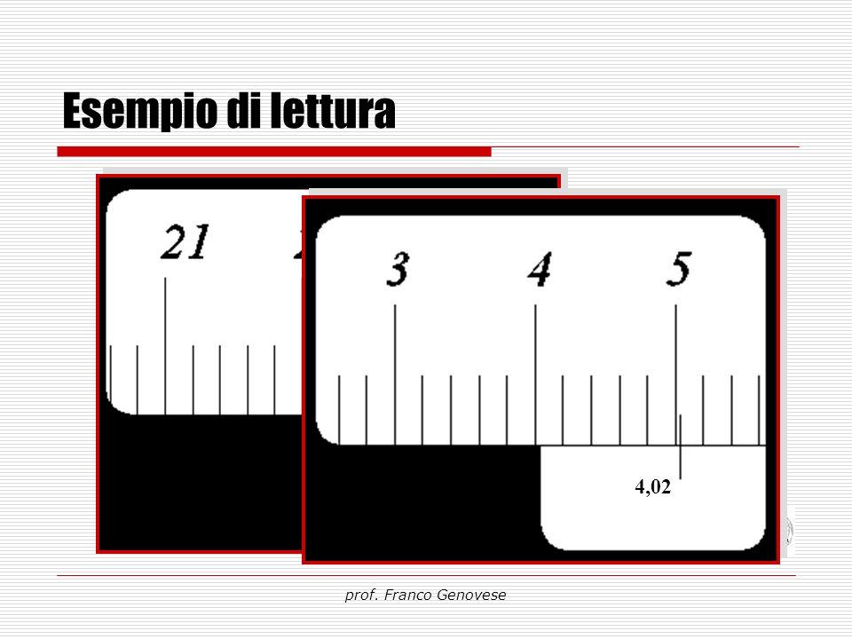 Esempio di lettura prof. Franco Genovese 124,58 39,84