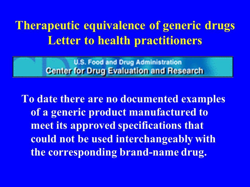 Farmaci generici secondo la legge italiana (legge 425 8/8/1996) Medicinale a base di uno o più principi attivi prodotto industrialmente, non protetto