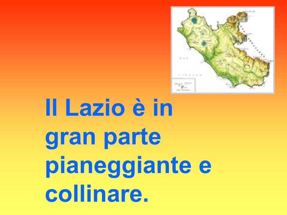 Il Lazio è attraversato da molti fiumi : Il Tevere, Il Garigliano, Il Velino, Il Sacco e l Aniene.