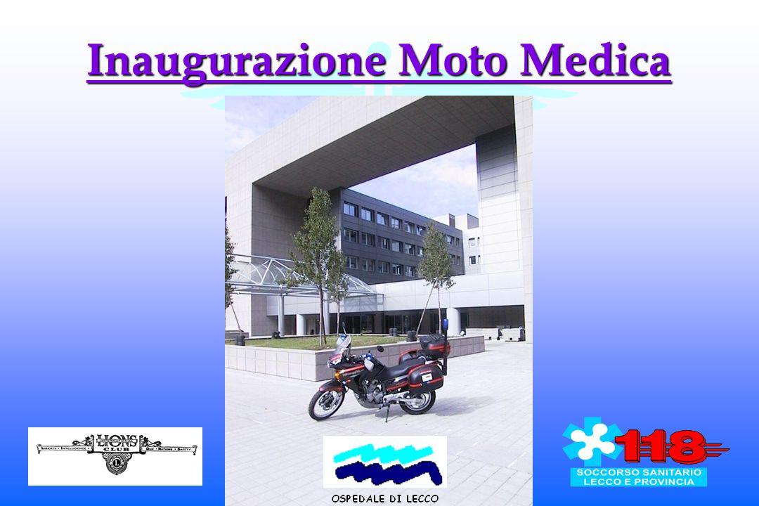 Inaugurazione Moto Medica