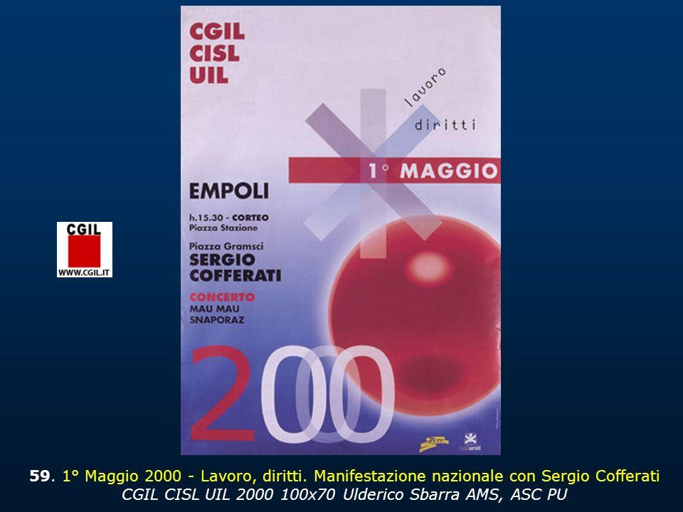 59.1° Maggio 2000 - Lavoro, diritti.