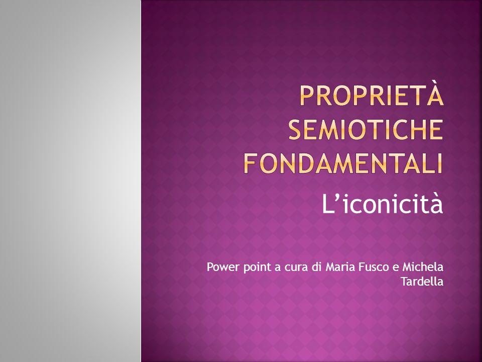 Liconicità Power point a cura di Maria Fusco e Michela Tardella
