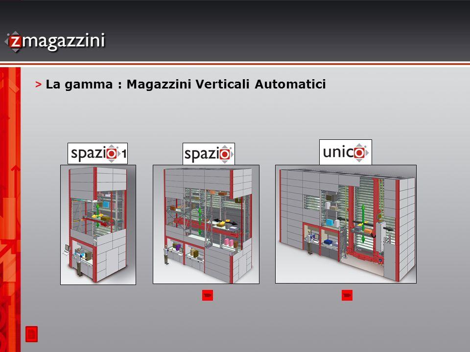 > La gamma : Magazzini Verticali Automatici
