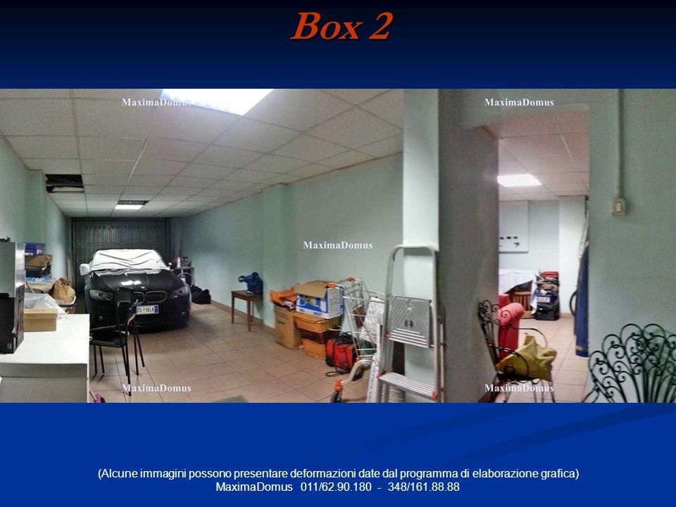 (Alcune immagini possono presentare deformazioni date dal programma di elaborazione grafica) MaximaDomus 011/62.90.180 - 348/161.88.88 Box 2