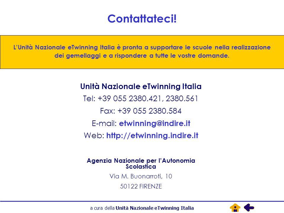a cura della Unità Nazionale eTwinning Italia Contattateci.