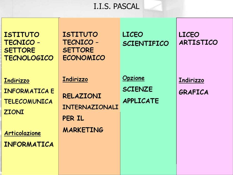 IL D.S. Marco Incerti Zambelli I.I.S. PASCAL