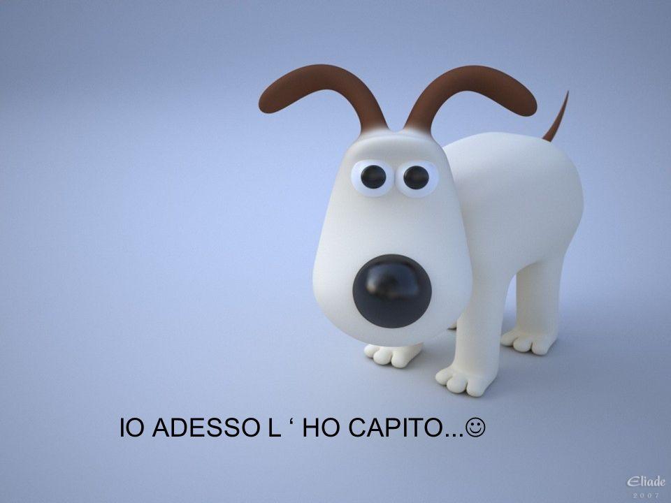 IO ADESSO L HO CAPITO...