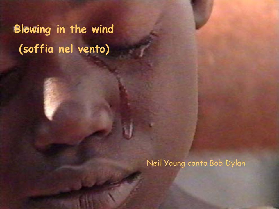 Blowing in the wind (soffia nel vento) Neil Young canta Bob Dylan