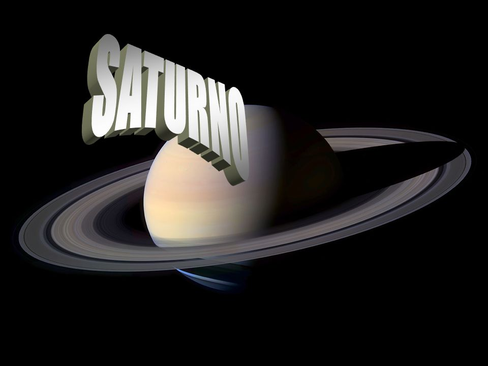 Presentazione Saturno è il sesto pianete del Sistema solare in ordine di distanza dal Sole ed il secondo pianeta più massiccio, dopo Giove.