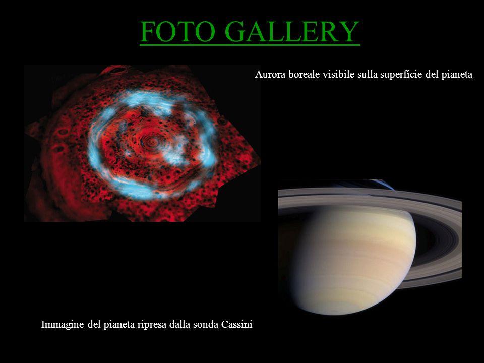 FOTO GALLERY Immagine del pianeta ripresa dalla sonda Cassini Aurora boreale visibile sulla superficie del pianeta