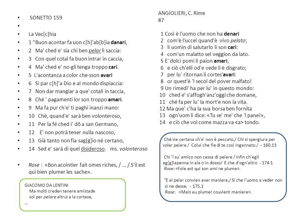 SONETTO 159 La Vec[c]hia 1