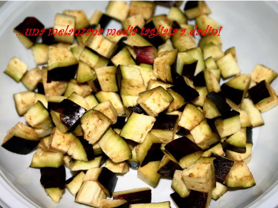 …rosolare la melanzana in poco olio evo conservare lolio di frittura