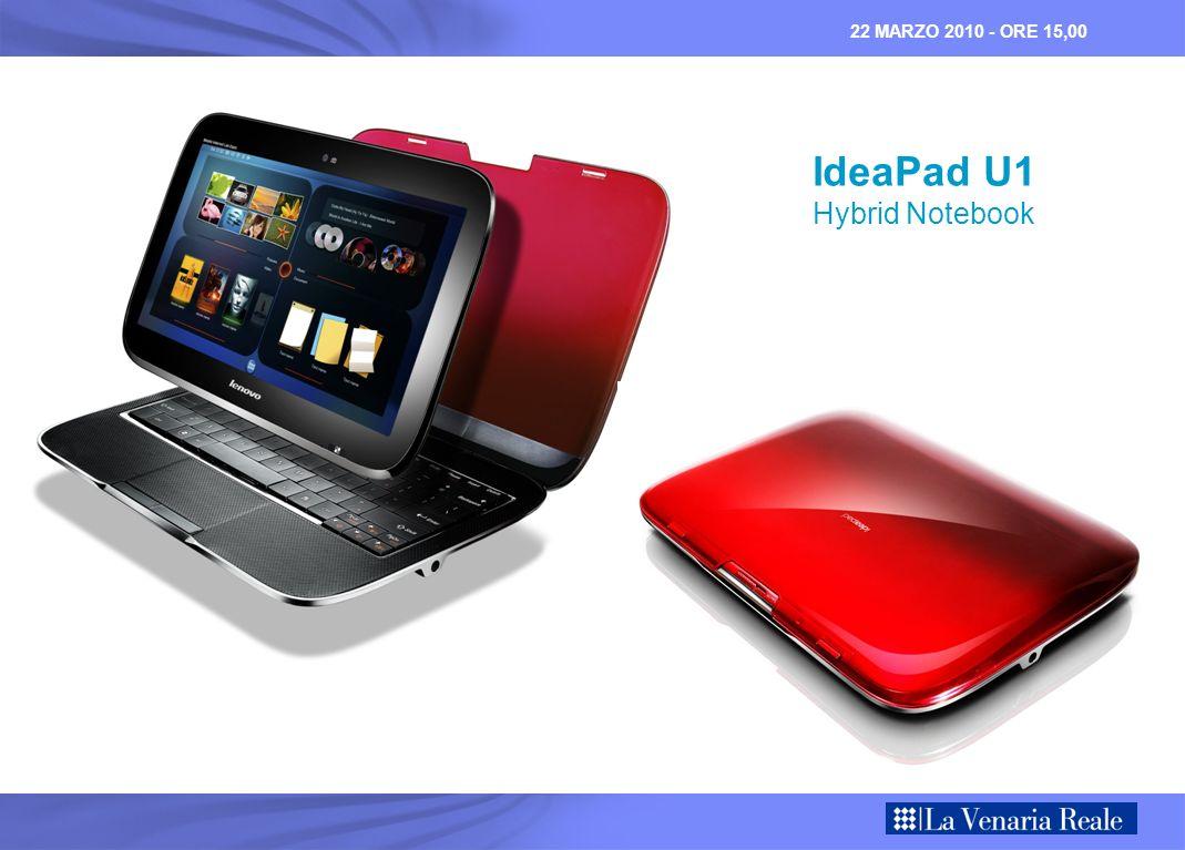 22 MARZO 2010 - ORE 15,00 IdeaPad U1 Hybrid Notebook