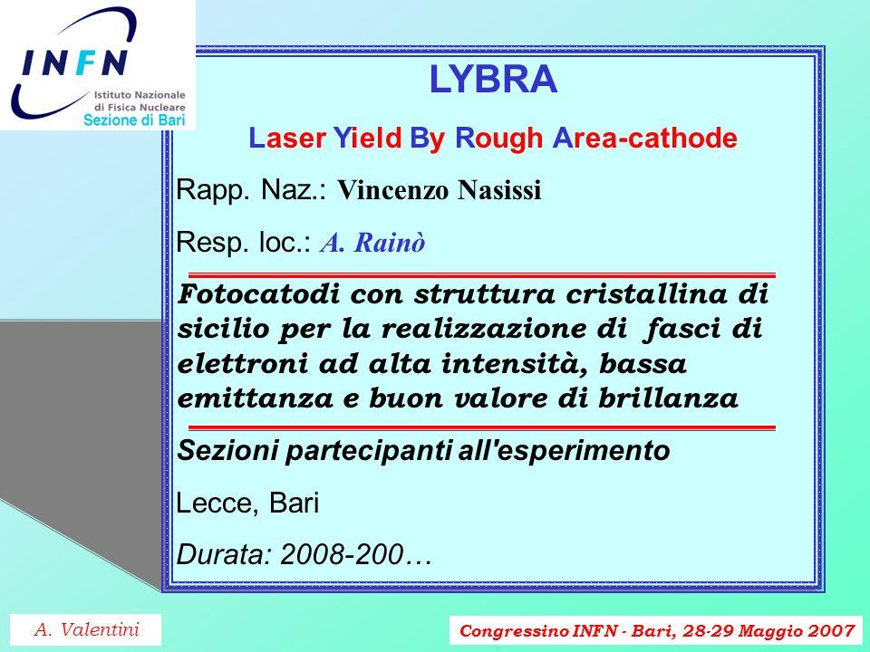 Congressino INFN - Bari, 28-29 Maggio 2007 DACEL Design And Characterization of deep sub-micron ELectronic Rapp.