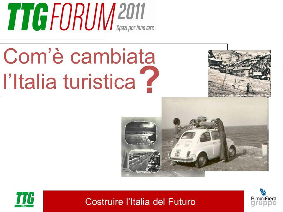 Costruire lItalia del Futuro Comè cambiata lItalia turistica ?