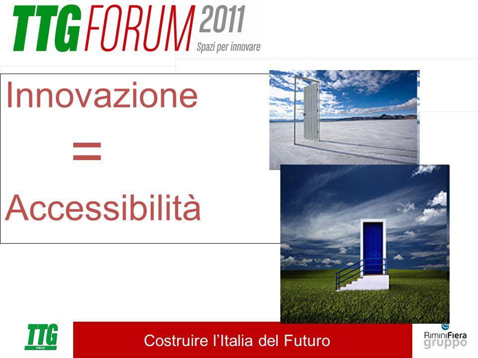 Costruire lItalia del Futuro Innovazione = Accessibilità