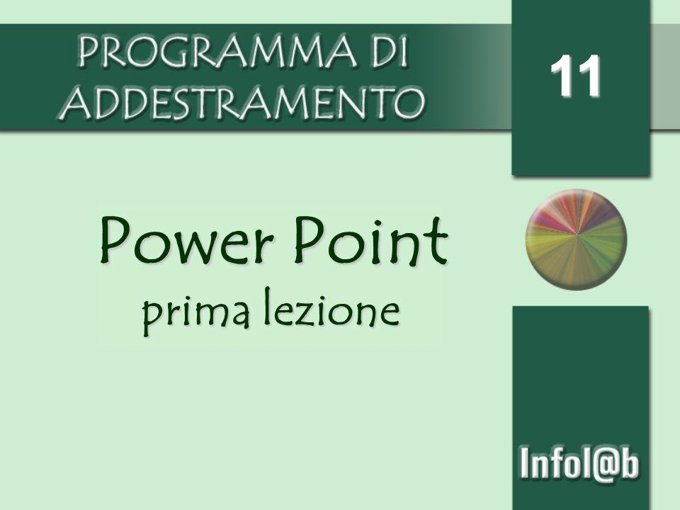 11 Power Point prima lezione