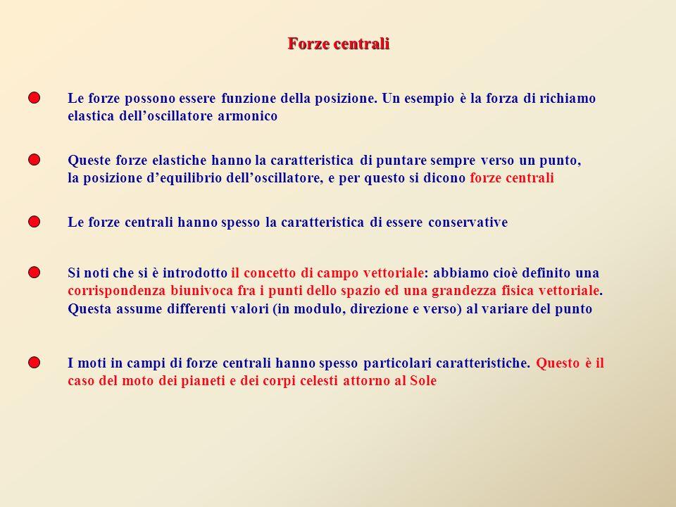 Corso di Fisica Generale Beniamino Ginatempo Dipartimento di Fisica – Università di Messina 1)Forze centrali 2)Le Leggi di Keplero 3)Coniche 4)Integra